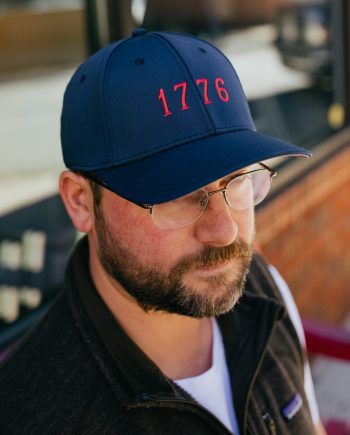 EST 1776 | USA Blue Feather Fit Hat