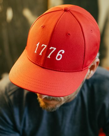 EST 1776 | USA Red Feather Fit Hat