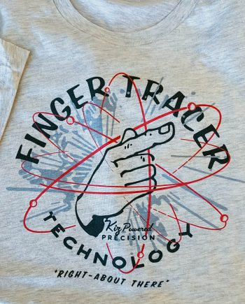 Finger Tracer Shirt Textbook Edition